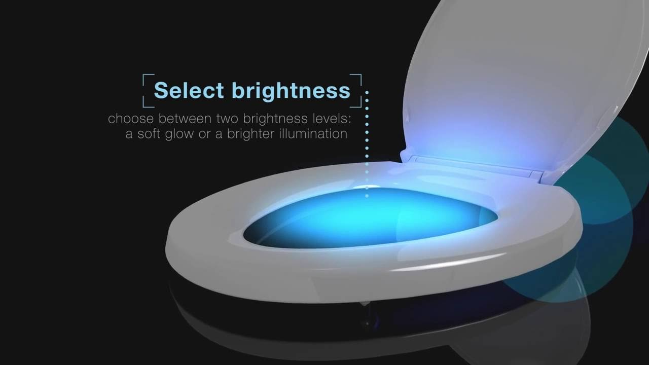 Kohler Toilet Seats With Nightlight Youtube