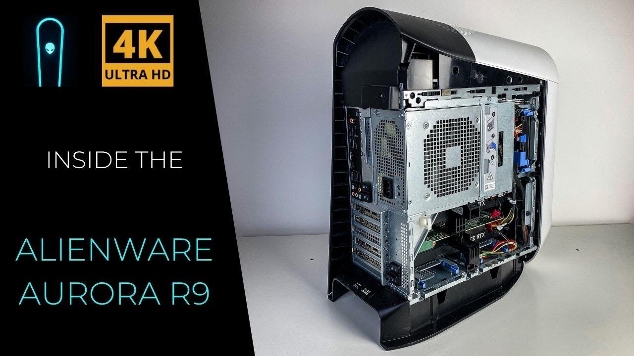 Inside The Liquid Cooled Alienware Aurora R9 Twin Nvidia Geforce