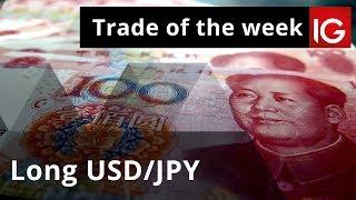 Long USD/JPY