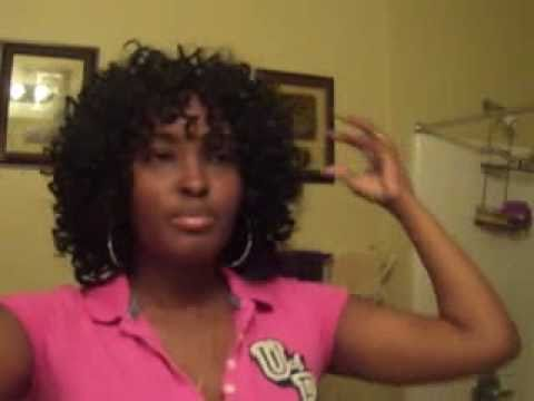 Invisible Part Quickweave With Curly Hair Youtube