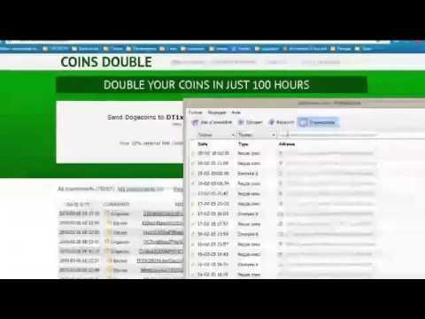 Coinsdouble Удвоитель Криптовалют за 100 часов