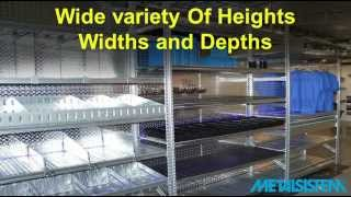 Storage Ideas and Metalsistem Shelving Accessories