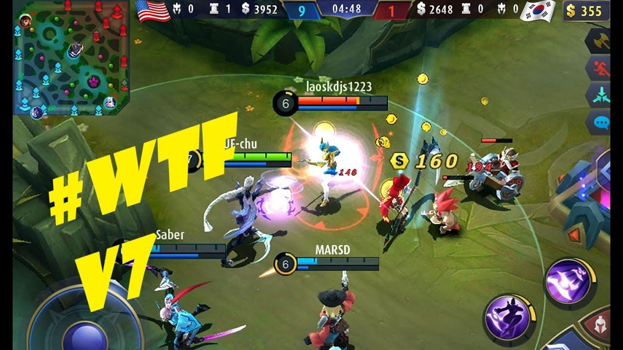 Mobile Legends Bang Bang Funny Moments And WTF V7