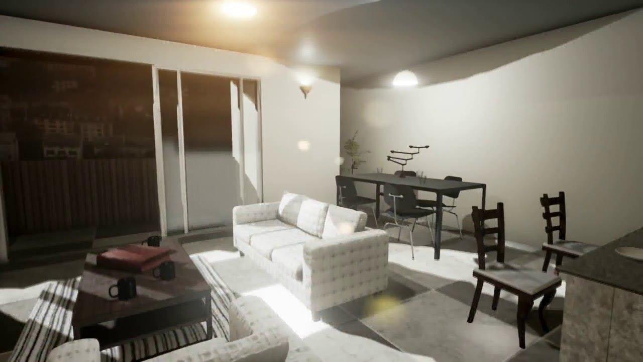 Recorrido apartamento modelo sala comedor cocina youtube for Cocinas modernas para apartamentos
