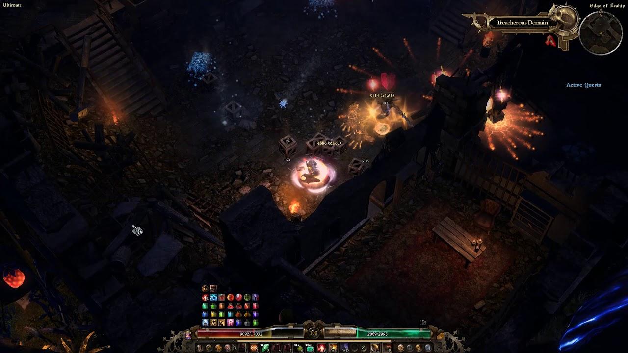 Secret Quest Unlocks Crate of Entertainment Grim Dawn Boss