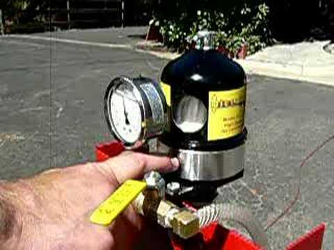 Cleaning waste vegetable oil with Dieselcraft centrifuge