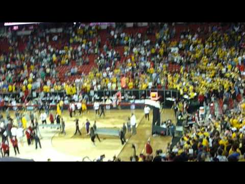 Wyoming basketball Mountain West Conference Championship vs. San Diego State March 14, 2015