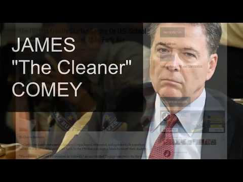 BOMBSHELL: JAMES COMEY AND THE NWO Pt 2 James THE CLEANER Comey