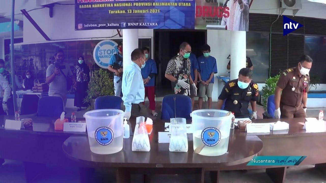 BNNP Kaltara Gagalkan Penyelundupan 2Kg Sabu dari Filipina