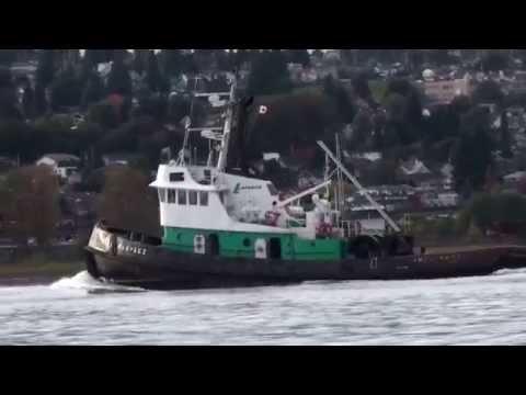 Tug Boat working the Fraser River.