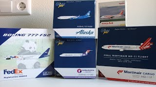 HUGE 1:400 Gemini Jets, Phoenix & Herpa unboxing! FedEx Boeing 777F, Martinair Cargo Md-11F,,...