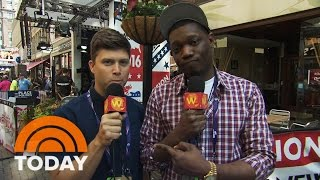 SNL At RNC: Weekend Update's Colin Jost, Michael Che Crash Convention | TODAY