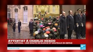 ÉMOTION - Minute de silence en France et vibrante Marseillaise après l'attentat à Charlie Hebdo