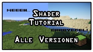Minecraft Tutorial: Shader installieren! [1.8 bis 1.12.2] [HD] [Deutsch]