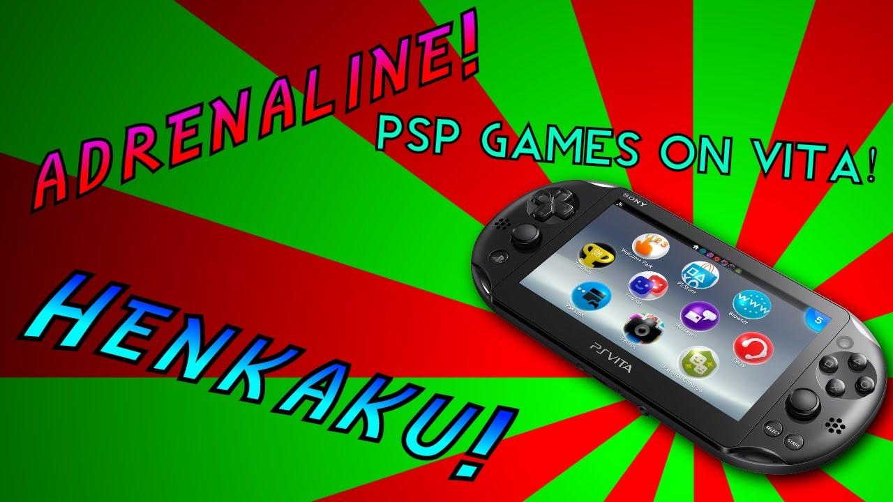 How to Play PSP Games (Adrenaline 6 61) on PS Vita (Henkaku/taiHenkaku)