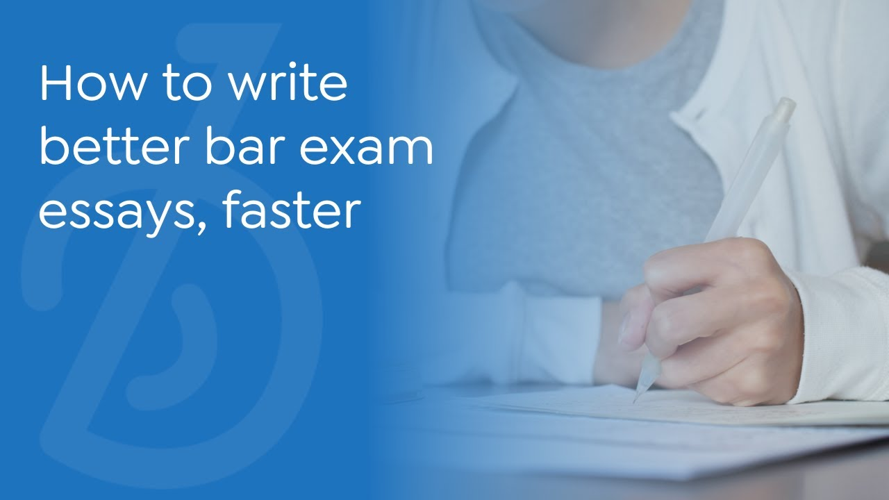 barbri essays The bar exam doctor graders gave me more extensive and helpful feedback on my essays and pts than i received at any other bar review, including barbri and barwinners.