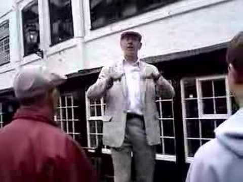 Clip From The Shakespeare London Walk w Tour Guide Shaughan