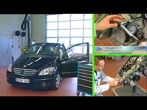 Mercedes Benz   Geräusche am Riementrieb OM640
