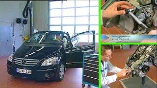 Mercedes Benz | Geräusche am Riementrieb OM640