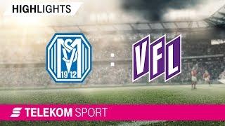 SV Meppen - VfL Osnabrück | Spieltag 2, 18/19 | Telekom Sport