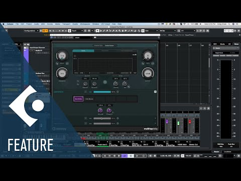 Walkthrough of the New MultiTap Delay | New Features in Cubase 10.5