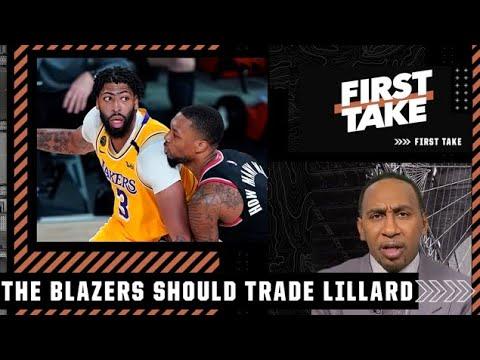 Stephen A. proposes a Damian Lillard-Anthony Davis trade   First Take