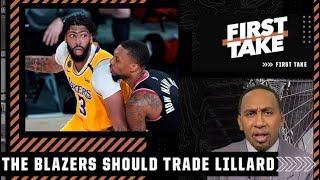 Stephen A. proposes a Damian Lillard-Anthony Davis trade