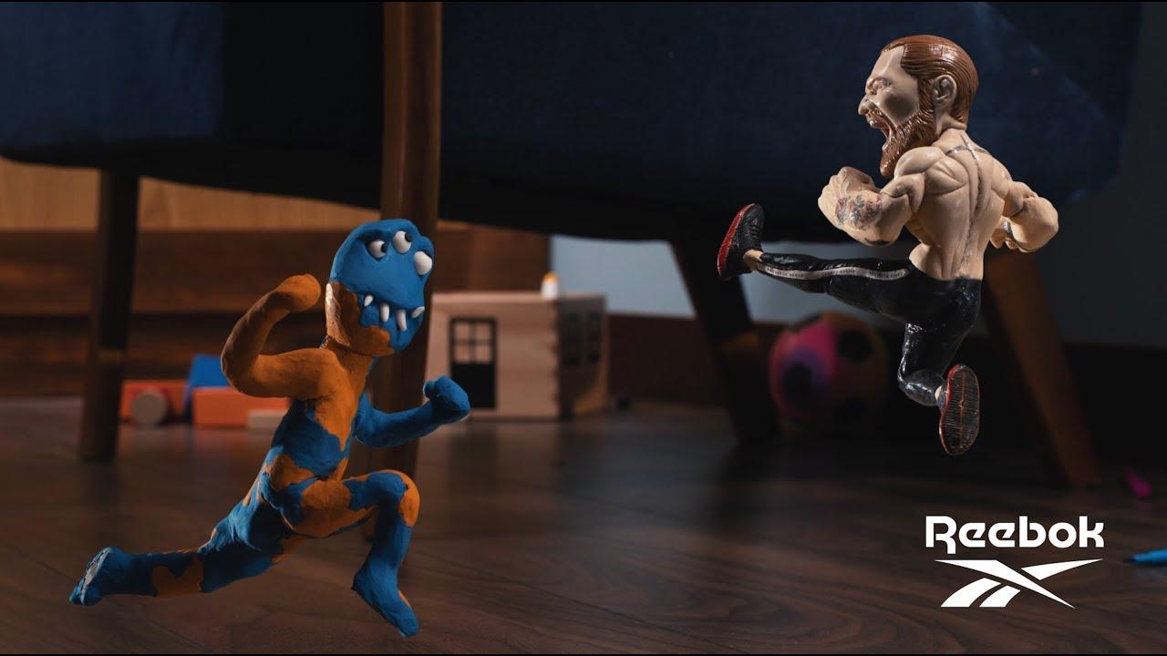 Conor McGregor fights children's toys