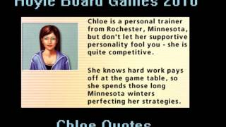 Hoyle Board Games 2010 - Chloe Quotes