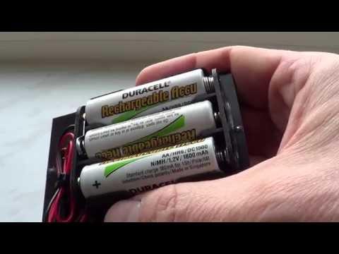 gratis batterijen opladen batterijlader op zonne energie eenvoudig zelf maken