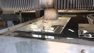 видео Гидроабразивная резка металла в СПб