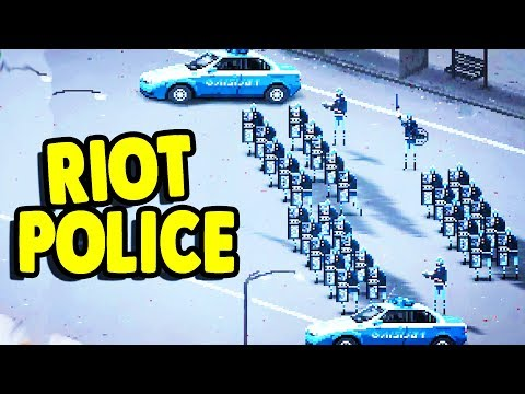 ACTUAL FOOTAGE of ARMY of POLICE vs. THOUSANDS of HIPPIES | Riot: Civil Unrest Simulator Gameplay