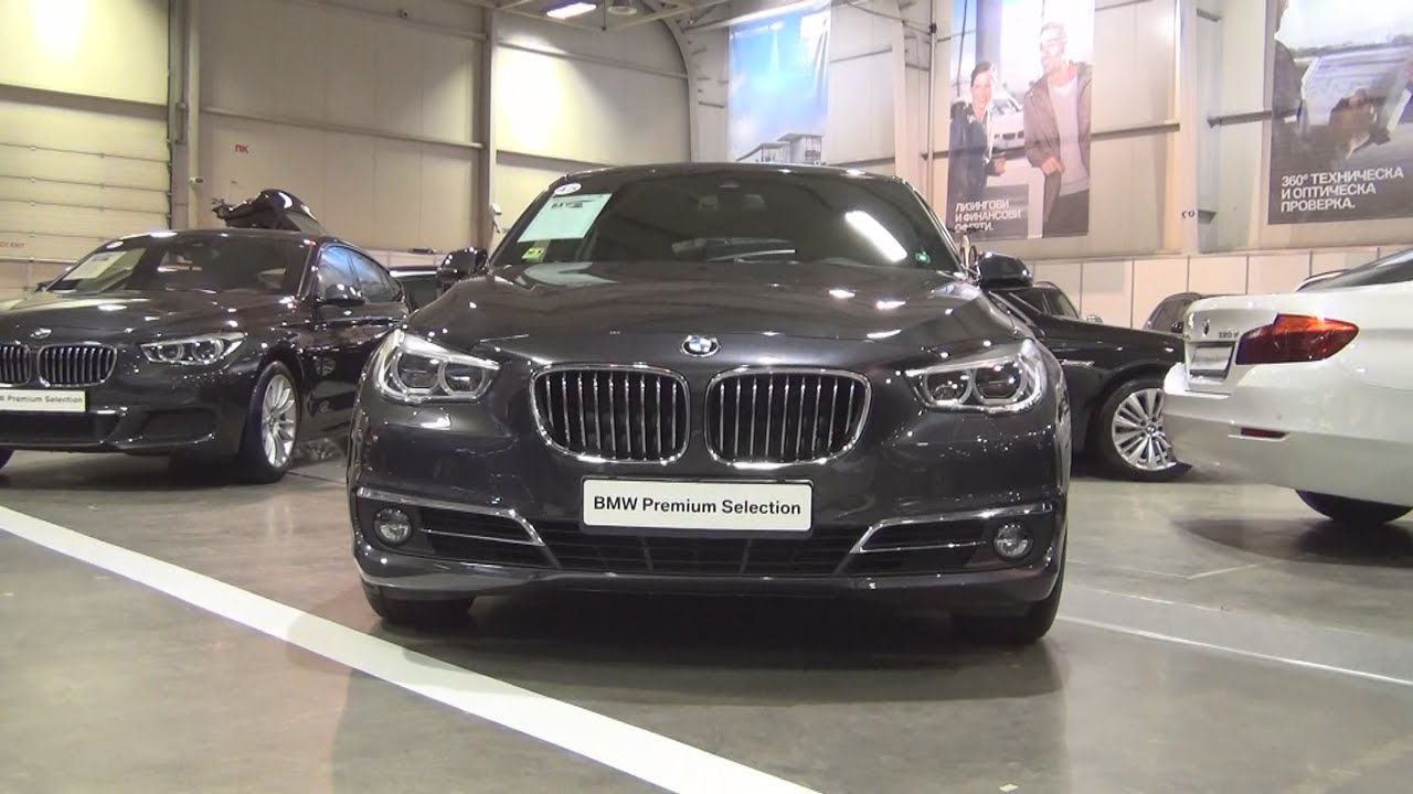Bmw 530d Xdrive Gran Turismo Sophisto Grey 2016 Exterior And Interior In 3d