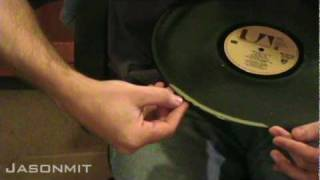 To Clean Records - Using Wood Glue 2 Of 2