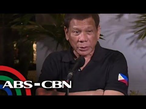 Duterte muling nagpatutsada kay Robredo ukol sa drug war | Bandila