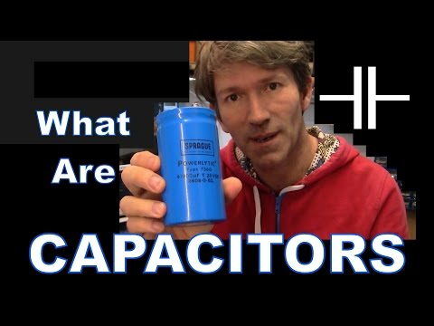 MF#39 Introduction to Capacitors and the Mathematics
