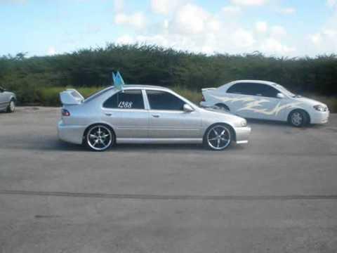 Fever Drifting Sentra Aruba HSracing - YouTube
