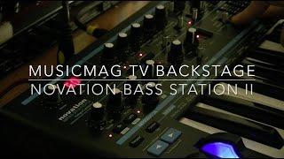 MusicMagTV Backstage - Novation Bass Station II