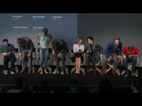 The Fault In Our Stars Cast Interview With Shailene Woodley, Nat Wolff, Ansel Algort, Sam Trammell