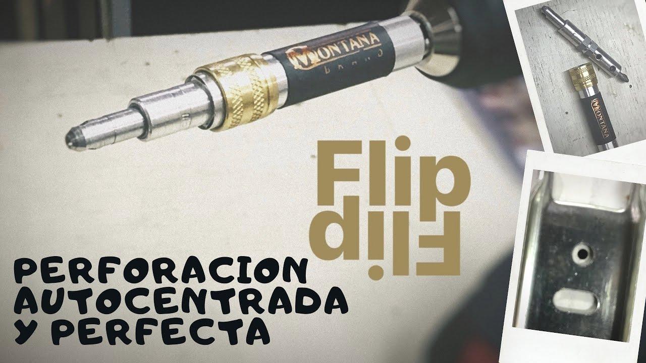 💪🏻 MONTANA Brand - Mecha AutoCentrante para colocacion  de precisión en herrajes de carpintería.!