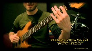 [Bass Cover] Shake Everything You Got - Maceo Parker / Rodney Curtis [Francois Lamouche]