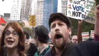 Occupy Wall Street: Day 14: March on Police Plaza