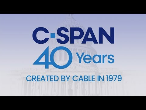 C-SPAN 40 Years: A Message from our Founder