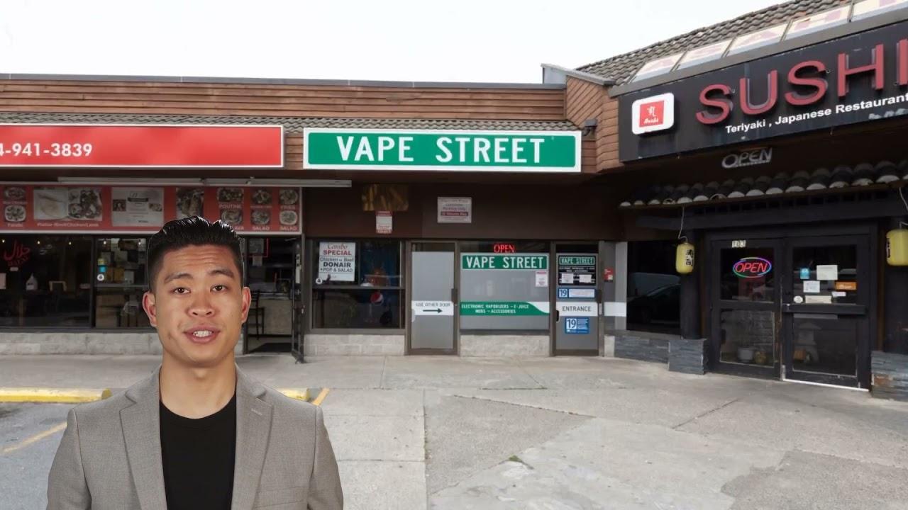 Vape Street Shop in Port Coquitlam, BC