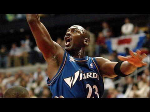 Tropezón Suradam recuerda  Michael Jordan's Top 10 Washington Wizards Plays - YouTube