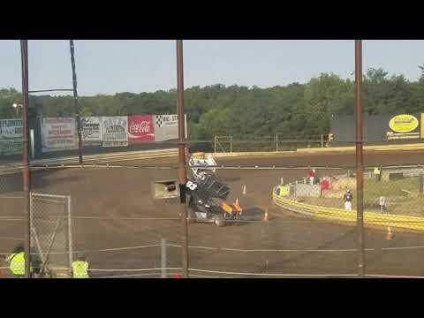 Ryan Quackenbush New Egypt Speedway hot laps URC 8.20.19