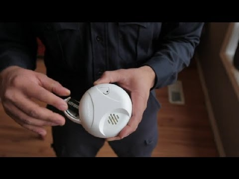 How To Change The Battery In Hard Wired Smoke Alarms Home Safety
