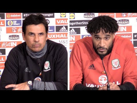 Chris Coleman & Ashley Williams Full Press Conference - France v Wales - International Friendly