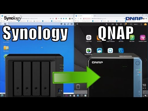 Backup a QNAP NAS to a Synology NAS with RSync
