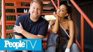 Ariana Grande Gets Carried Away & Shoots Down Pregnancy Rumors Amid Carpool Karaoke Tunes | PeopleTV